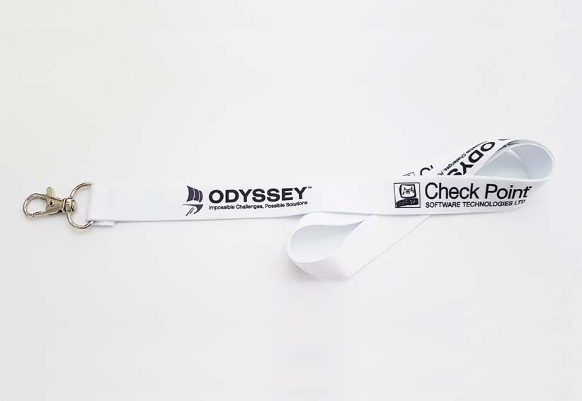ODYSSEY_Lanyard με μεταλλίκο κρίκο