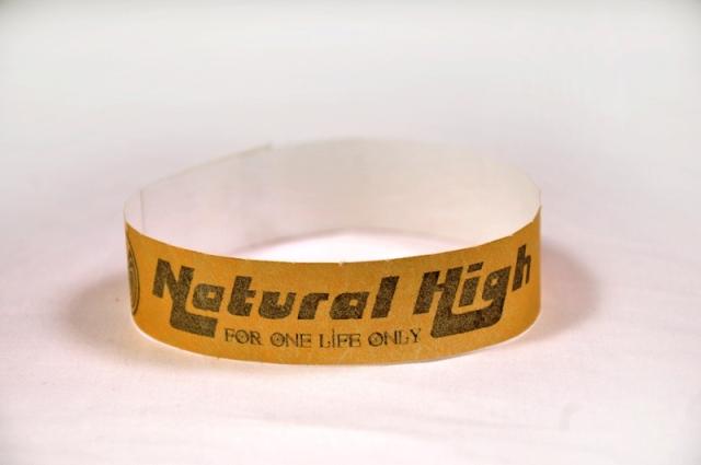 Natural High_Βραχιολάκια εισόδου tyvek με αυτοκόλλητο κούμπωμα ασφαλείας